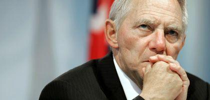 """Innenminister Schäuble: Eine """"Handvoll Jusos"""" gegen das BKA-Gesetz"""