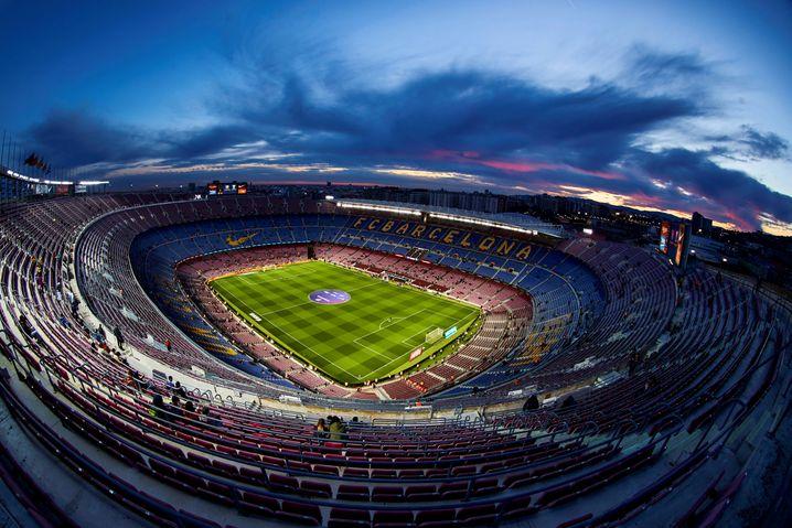 """Das Stadion des FC Barcelona: """"Liga und Gesundheitsministerium müssen uns schriftlich garantieren, dass wir zu 100 Prozent vor dem Virus geschützt sind"""""""