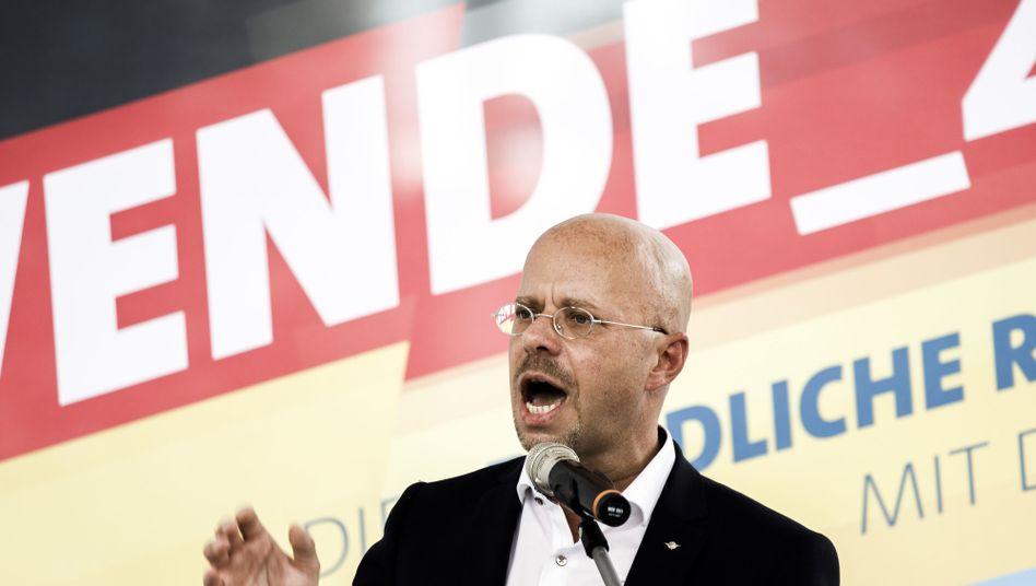 Brandenburger AfD-Chef Andreas Kalbitz: rechtsaußen unter Rechten