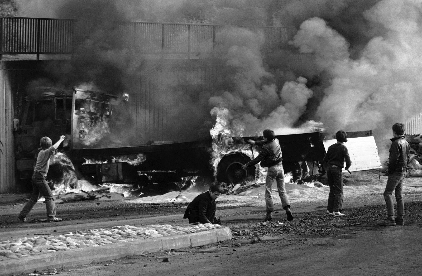 IRA Hunger Strike 1981: Protest