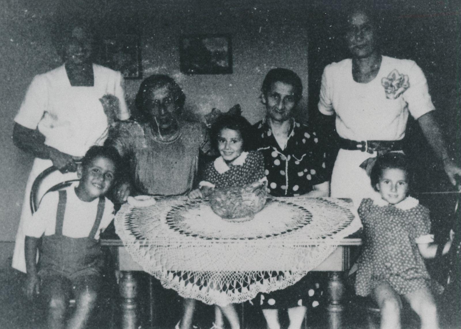 Sergio und Großfamilie