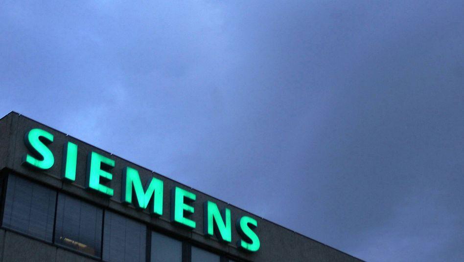 Siemens-Schriftzug: Schwierige Scheidung von Areva