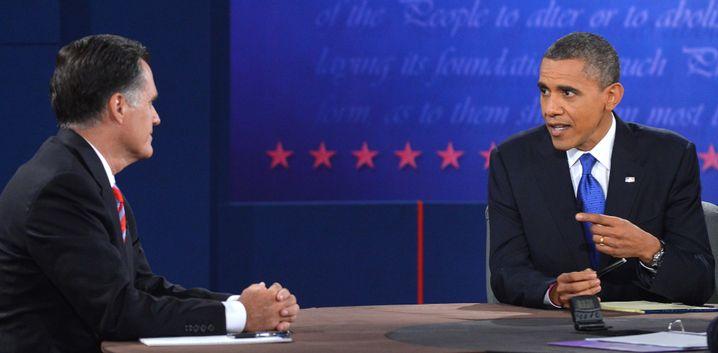 Romney, Obama: Streit über Ausgaben für das US-Militär