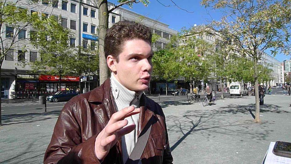 """Protestführer Siener: """"Gib den Leuten eine Plattform"""""""