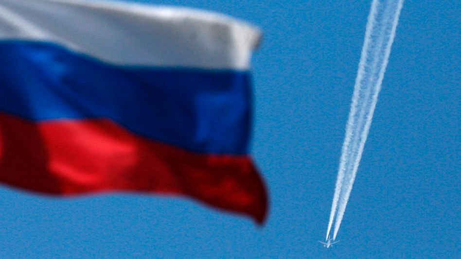Reaktion auf Sanktionen: Russland droht mit Überflugverbot