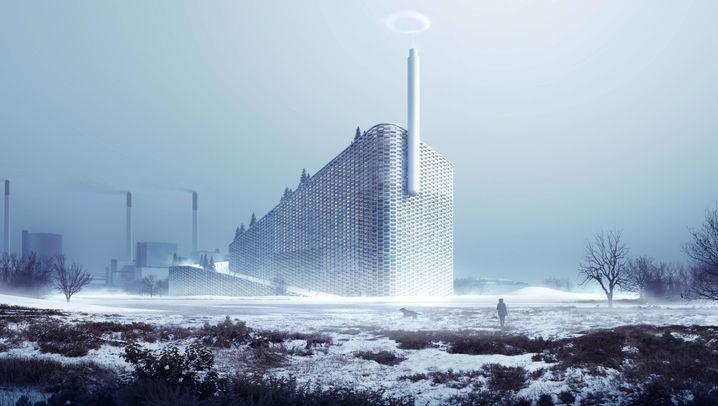 Skifahren in der Stadt: Kopenhagens Plastikpiste