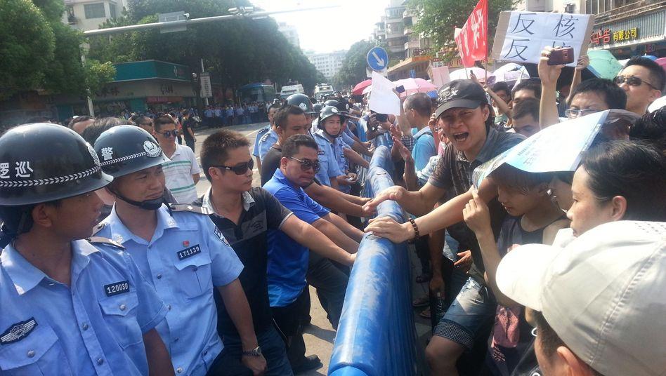 Proteste in Jiangmen: Die Behörden geben nach