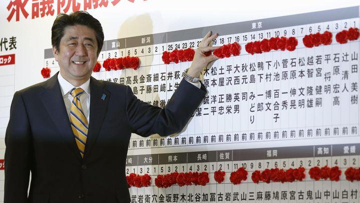 Parlamentswahlen: Sieg für Japan Atomfreunde