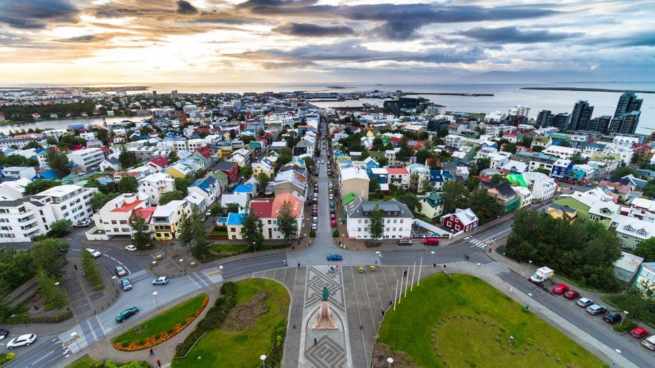 Islands Hauptstadt Reykjavík