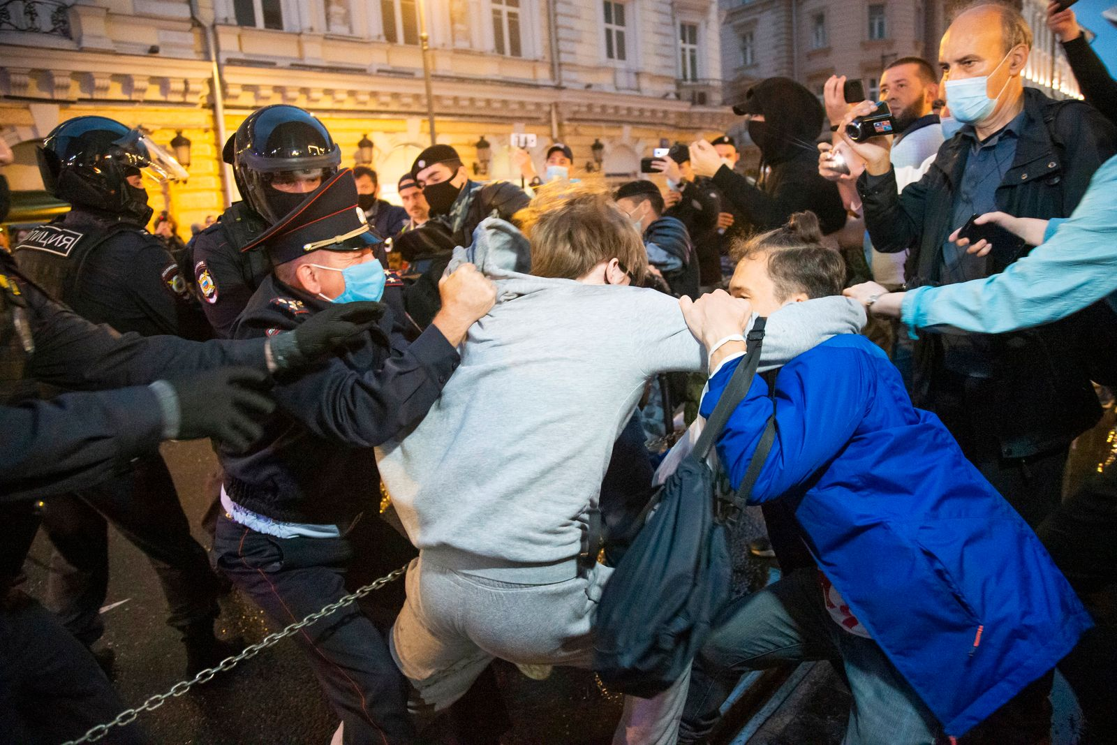 Proteste in Russland