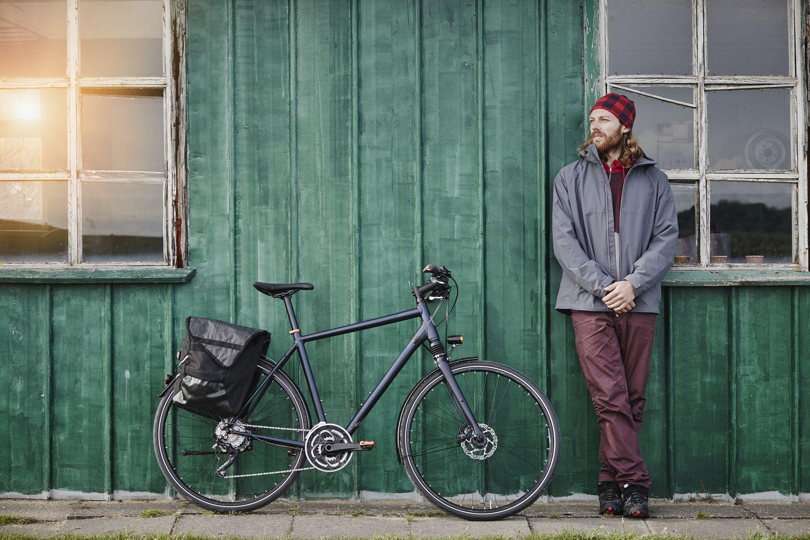 EINMALIGE VERWENDUNG Stiftung Warentest / Fahrradtasche