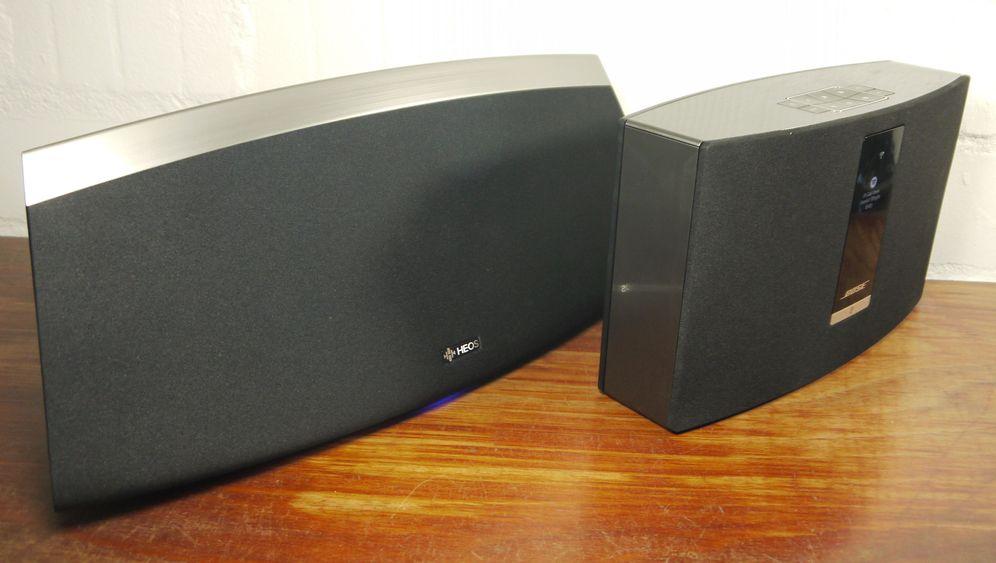 Heos 7 und SoundTouch 20 im Test: W-Lan-Aktivboxen von Bose und Denon