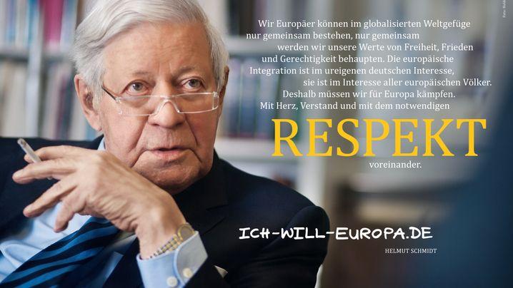 Kampagne deutscher Stiftungen: Prominente werben für Europa
