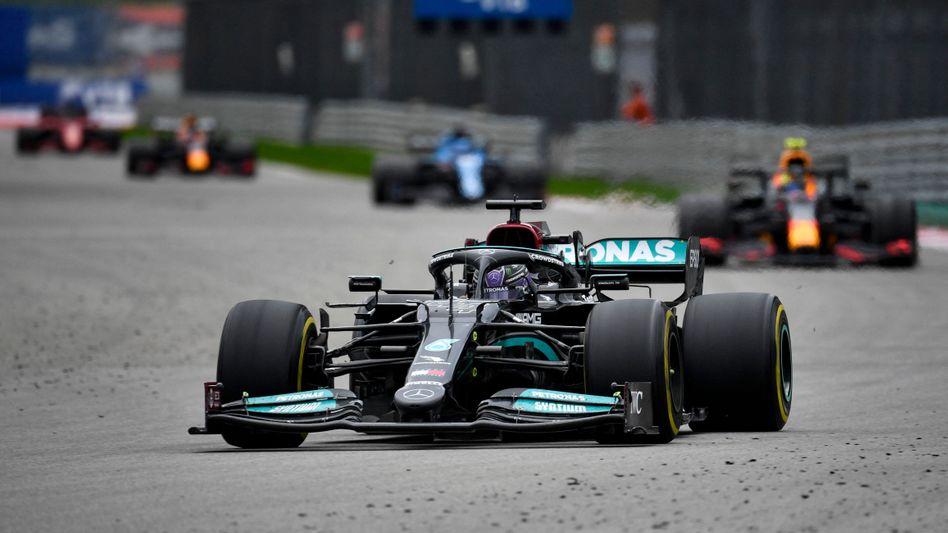Lewis Hamilton holte seinen 100. Triumph in der Formel 1