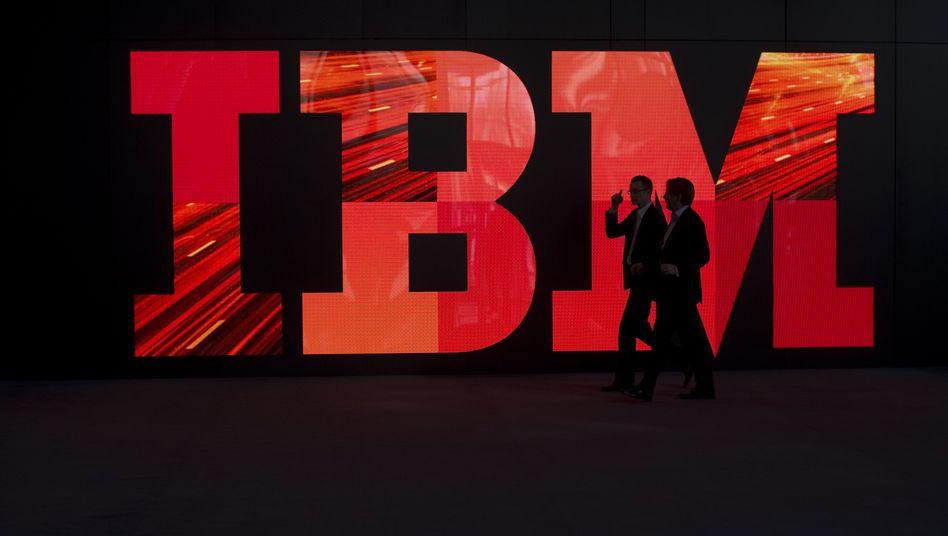 Firmen-Stand auf der Cebit: IBM will seine Arbeitsstrukturen grundlegend ändern