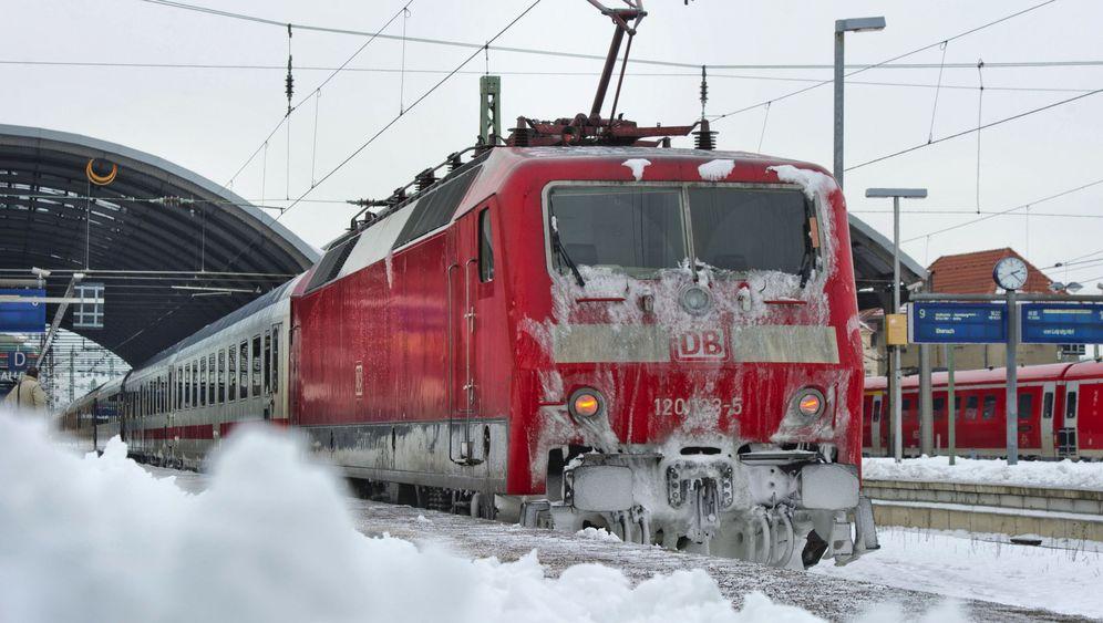 Wintereinbruch: Eiszeit bei der Bahn