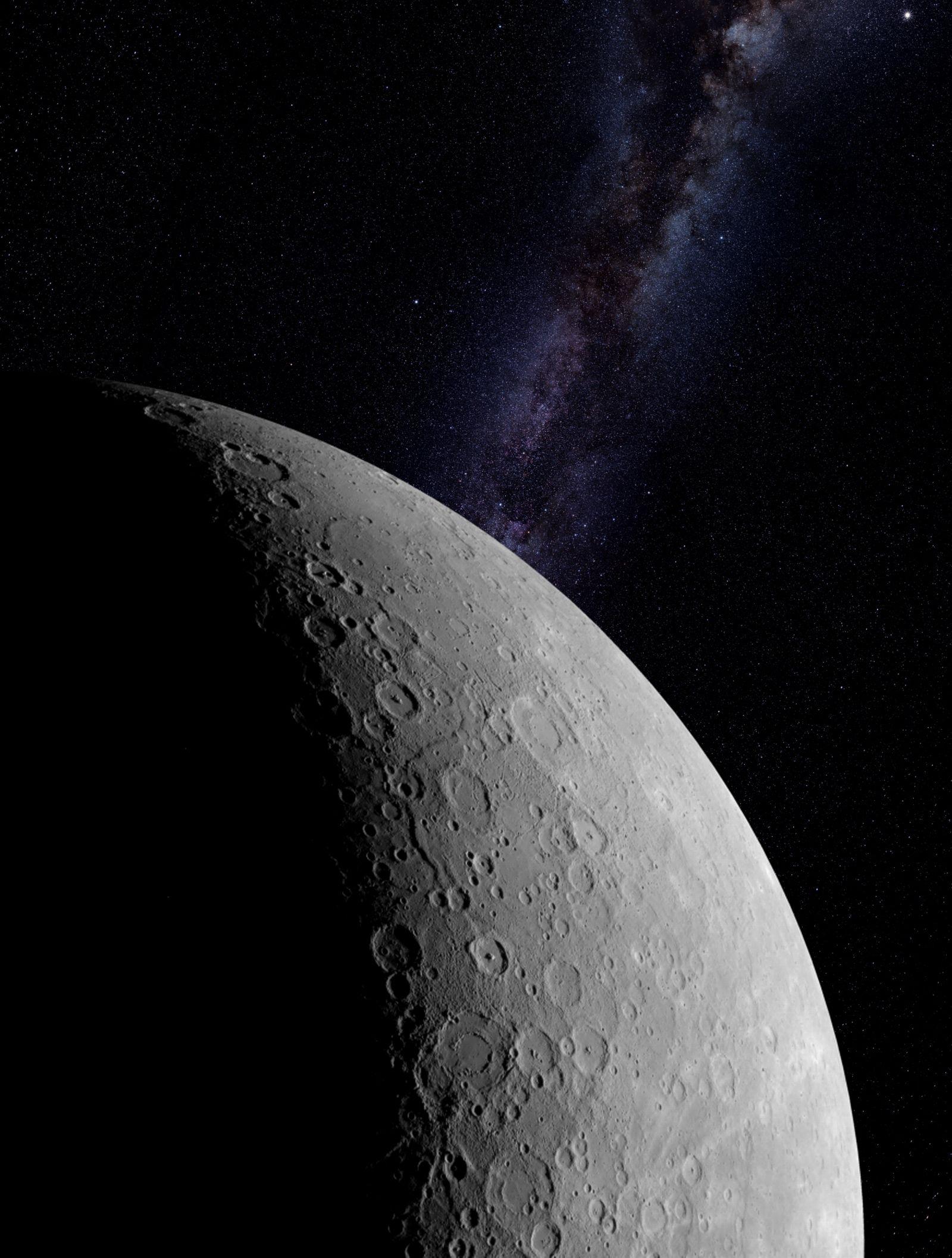 EINMALIGE VERWENDUNG Merkur / NASA