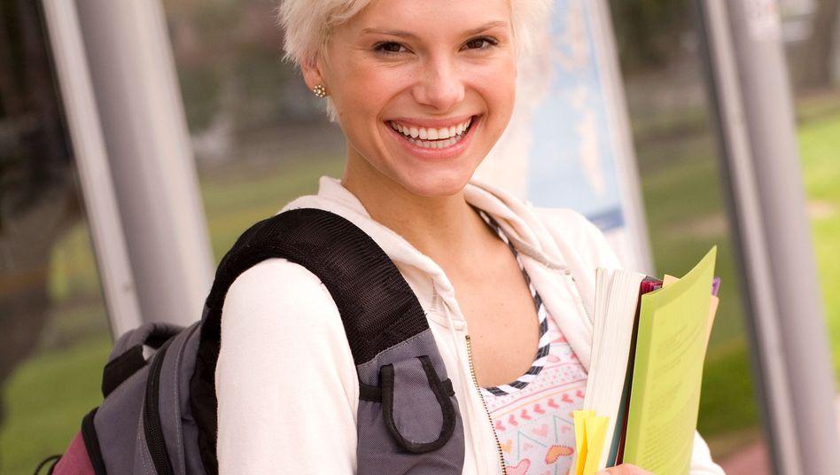 Studentin: In der vorlesungsfreien Zeit stehen oft viele Hausarbeiten an