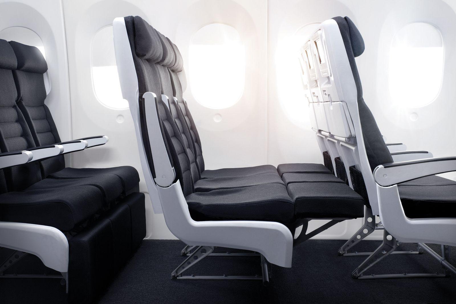 EINMALIGE VERWENDUNG Recaro / Air New Zealand SkyCouch