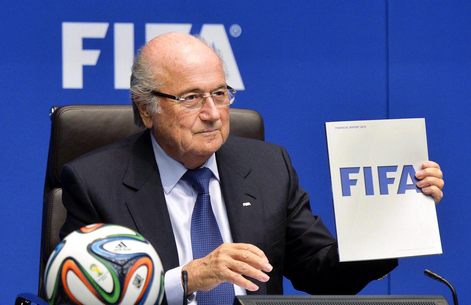 FIFA-Präsident Blatter