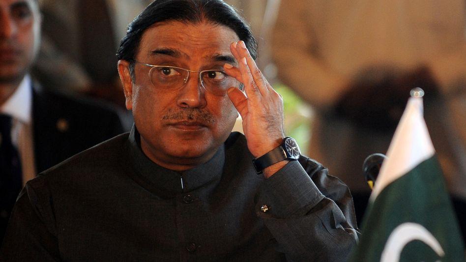 """Pakistans Präsident Zardari: """"Vorwürfe, wir wären unehrlich"""""""