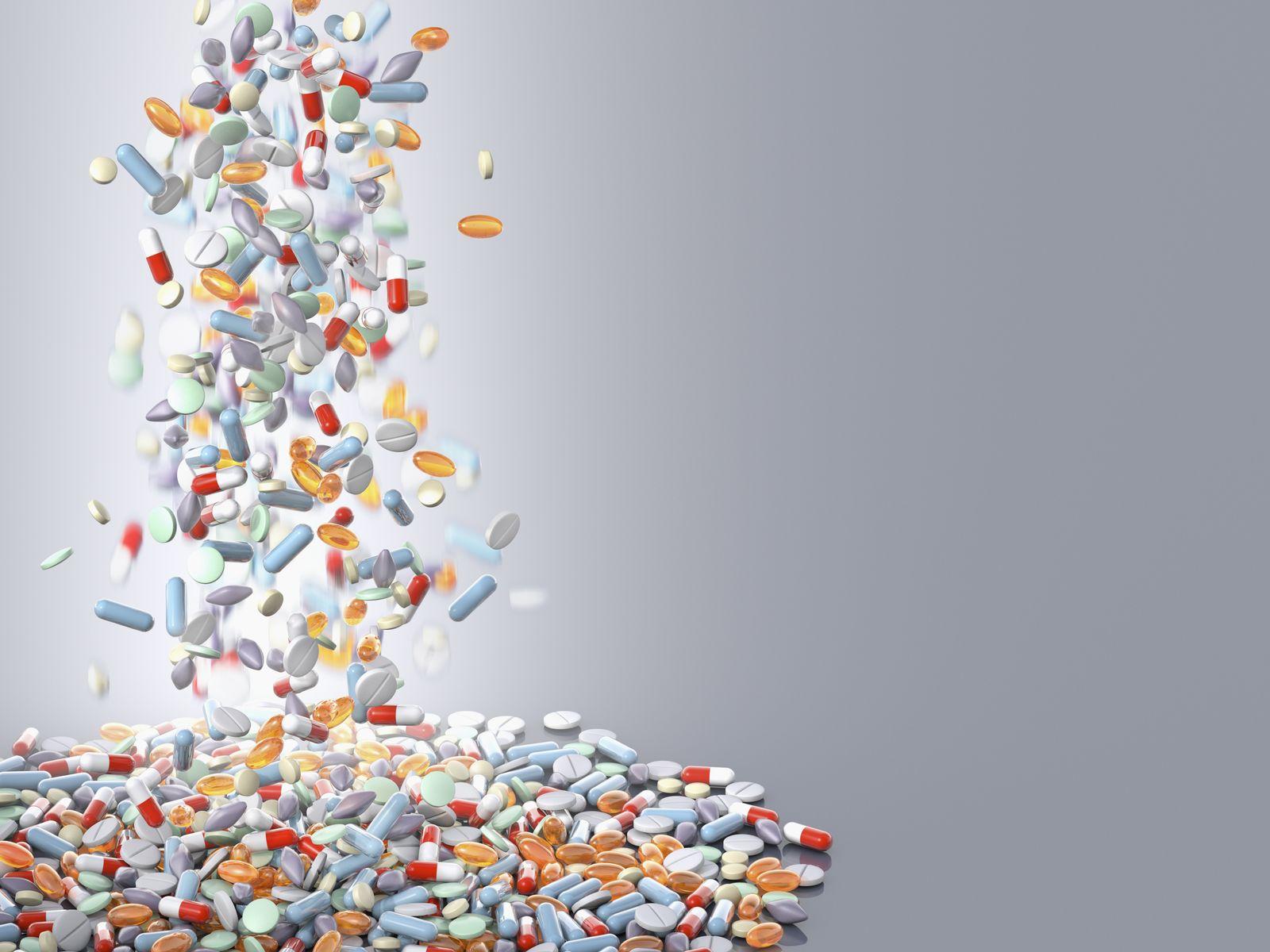 NICHT MEHR VERWENDEN! - Pillen / Tabletten