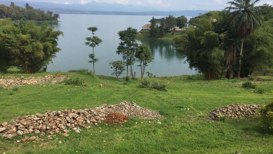 Ufer des Kivusees auf ruandischer Seite (Archivbild)