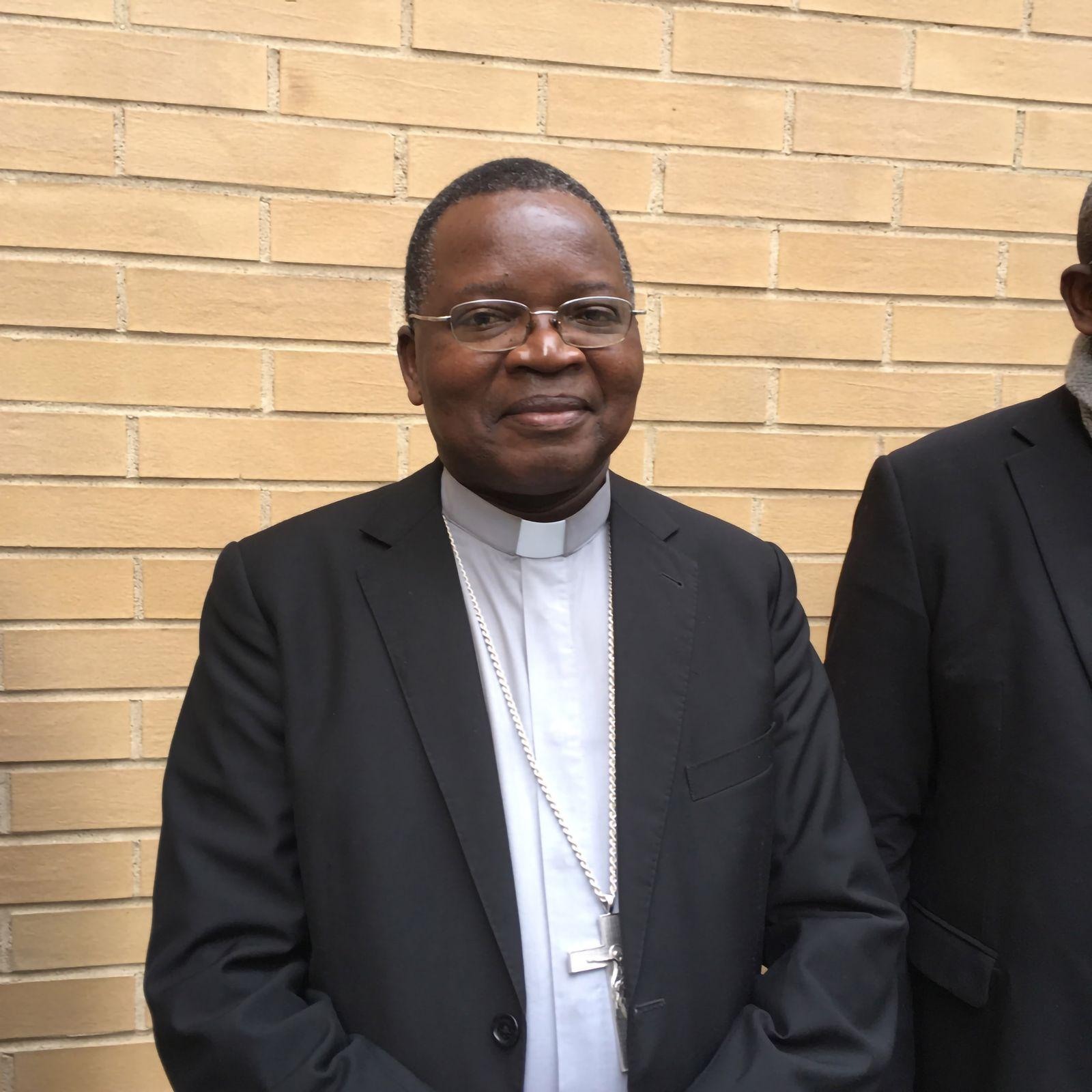 EINMALIGE VERWENDUNG Kongo/ Bischöfe