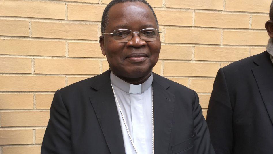 Cenco-Präsident Marcel Utembi