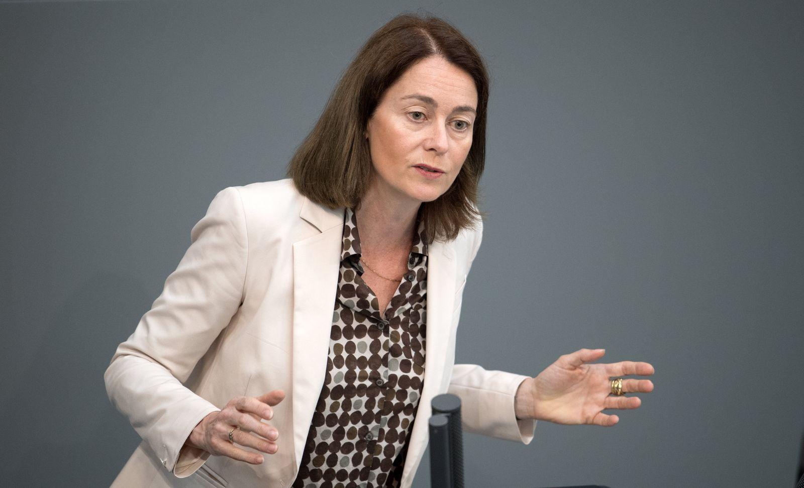Katarina Barley im Bundestag
