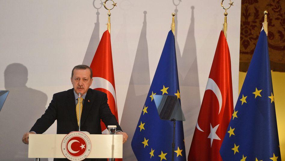 """Regierungschef Erdogan: """"Die Leute kehren in die Türkei zurück"""""""
