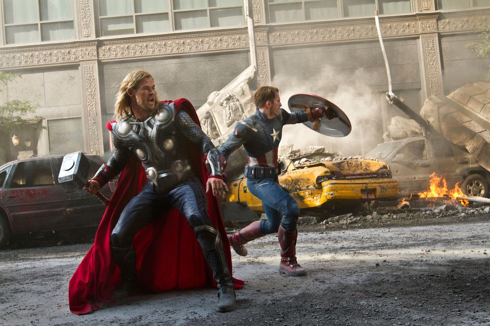 EINMALIGE VERWENDUNG Film/ The Avengers