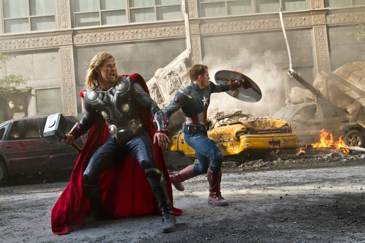 """Szene aus """"The Avengers"""": Die Blockbuster-Spielregeln haben sich geändert"""