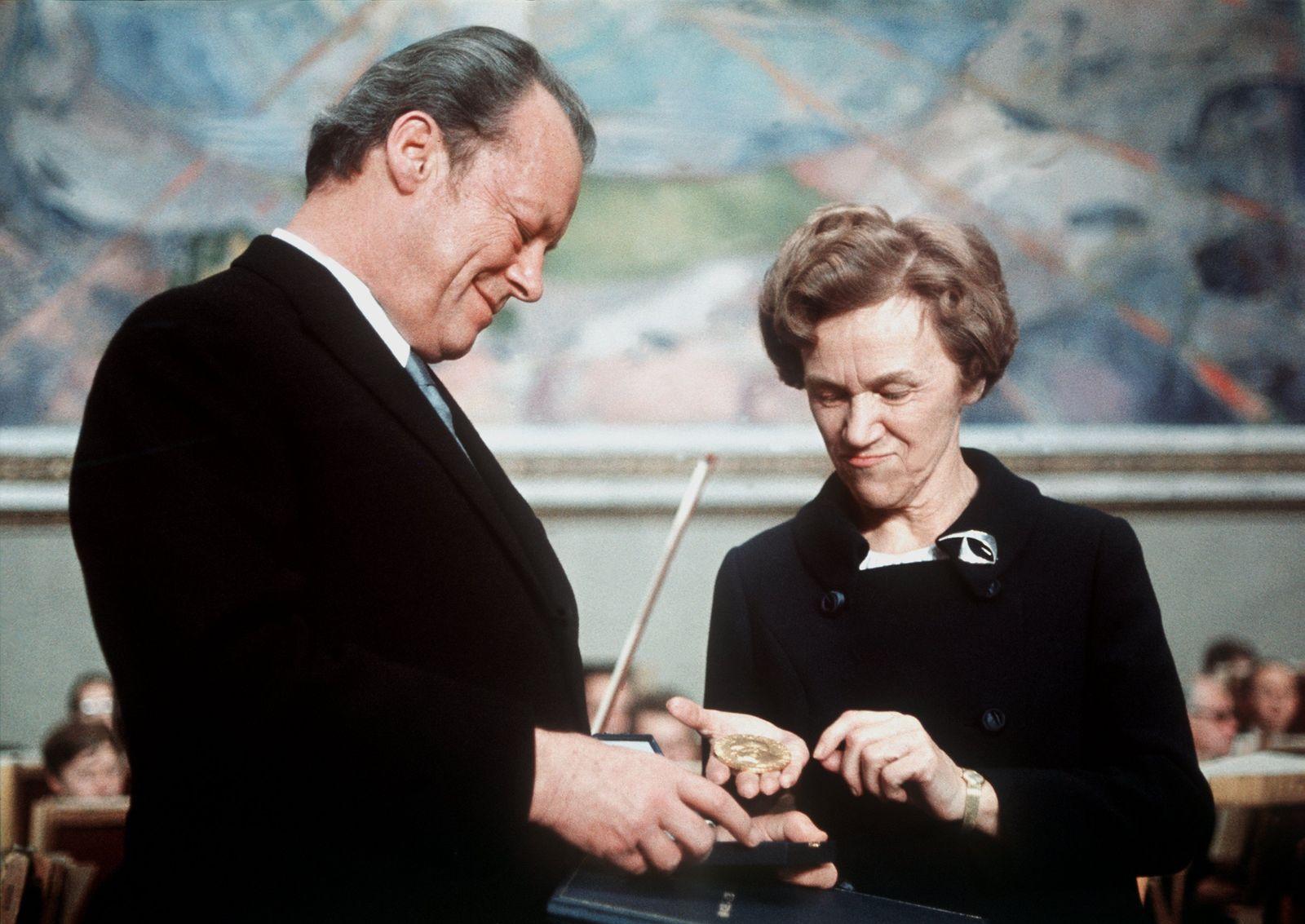 Willy Brandt / Friedensnobelpreis 1971