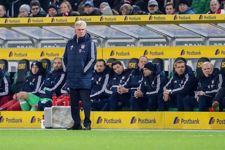 """Bayern-Trainer Heynckes: """"Das geht nicht anders, ich muss das machen"""""""