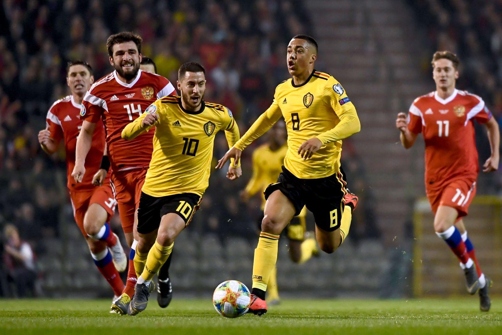 Belgien - Russland