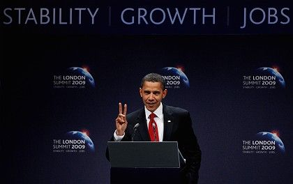 US President Barack Obama: The G-20 is laying the foundation for the next crisis.