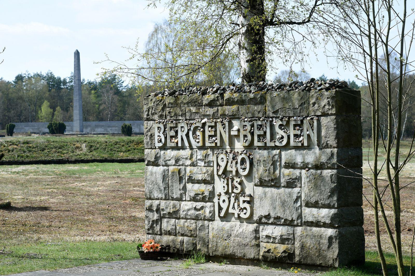 Ausstellung in der KZ-Gedenkstätte Bergen-Belsen