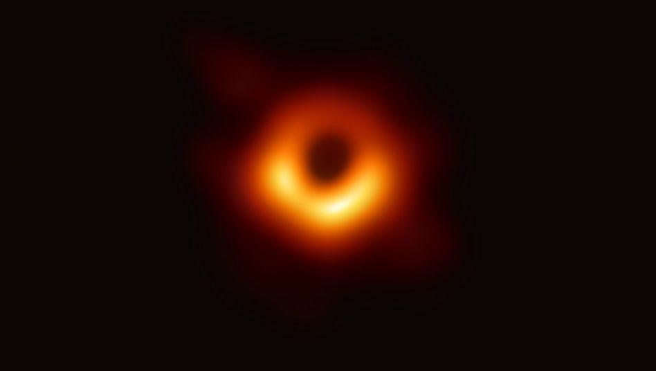 Das erste Bild eines schwarzen Lochs sorgte 2019 für eine wissenschaftliche Sensation