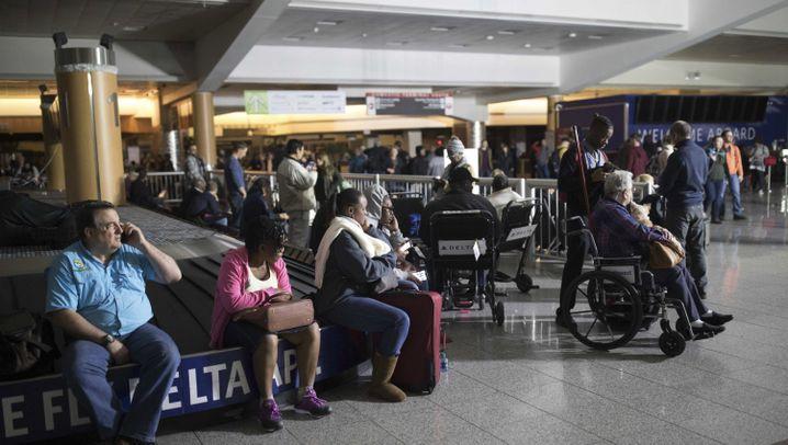 Stromausfall am Flughafen Atlanta: ... und dann ging nichts mehr