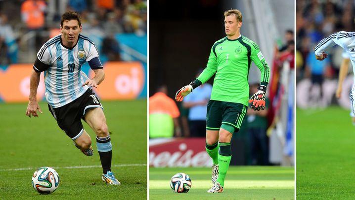 Weltfußballer 2014: Messi, Neuer oder Ronaldo