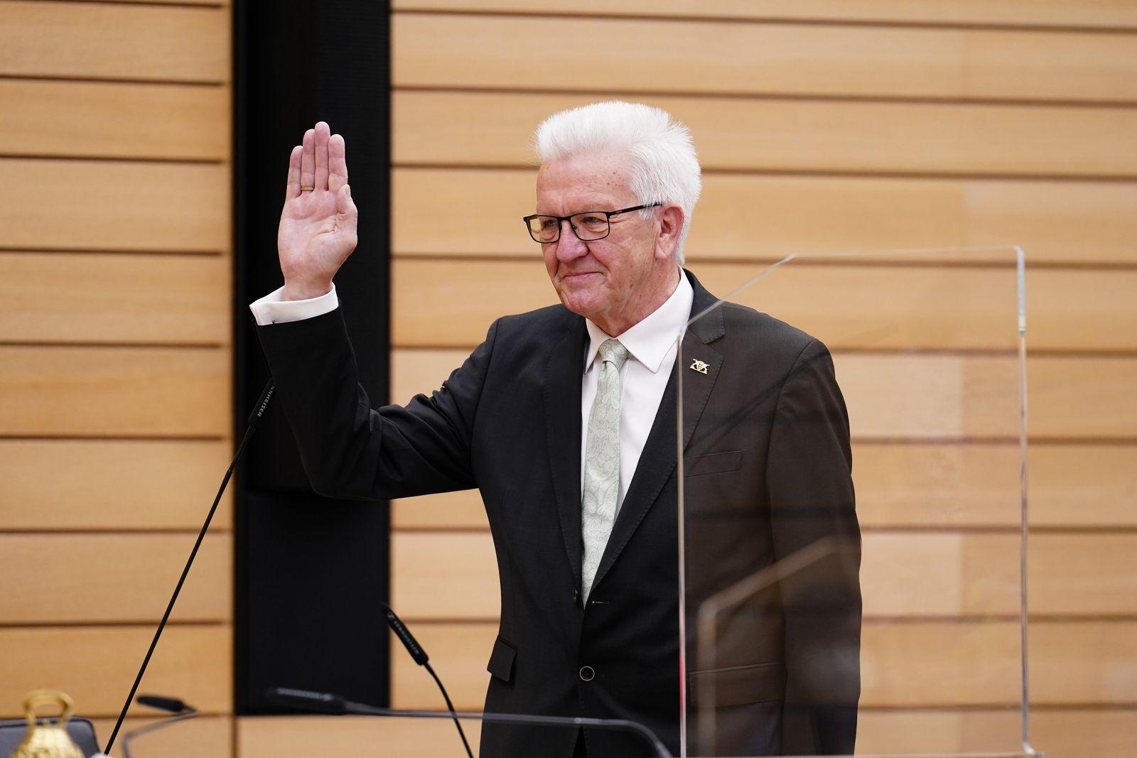 Auftaktsitzung des neu gewählten Landtags von Baden-Württemberg