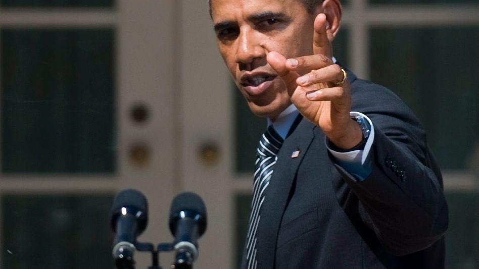 US-Präsident Obama: Flucht in Krisenrhetorik