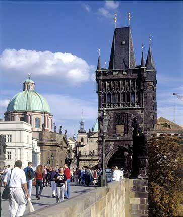 Prag - ein Praktikum absolvieren, wo andere Urlaub machen