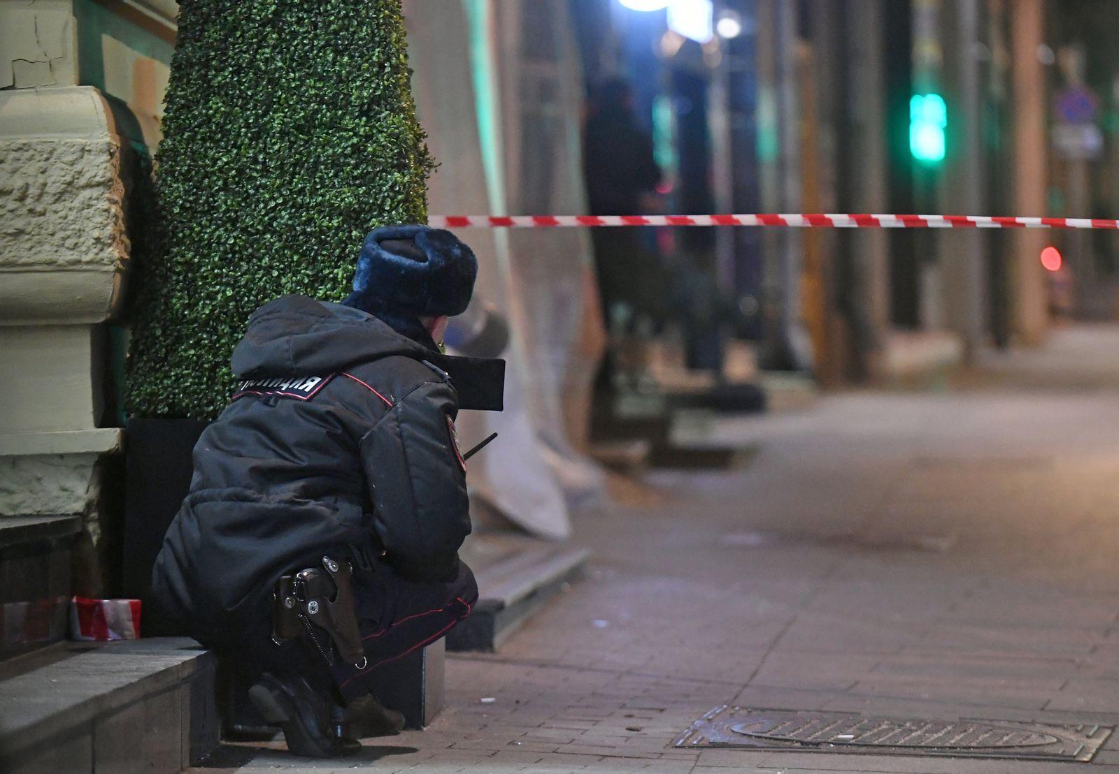 Unbekannter schießt an Geheimdienst-Zentrale in Moskau
