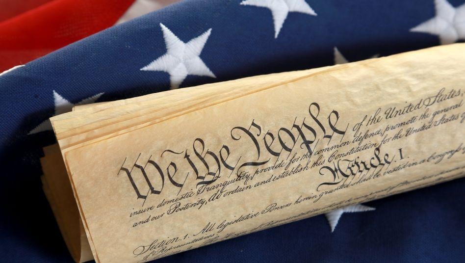"""Präambel der amerikanischen Verfassung: """"We the people"""""""
