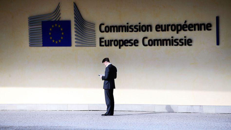 Eingang zur Kommissionsgebäude in Brüssel: Steuerdeals sollen offengelegt werden