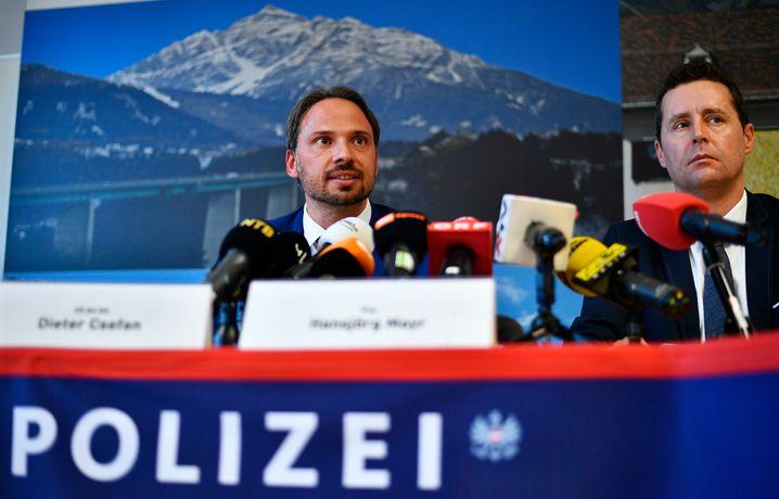 Pressekonferenz des österreichischen Bundeskriminalamtes