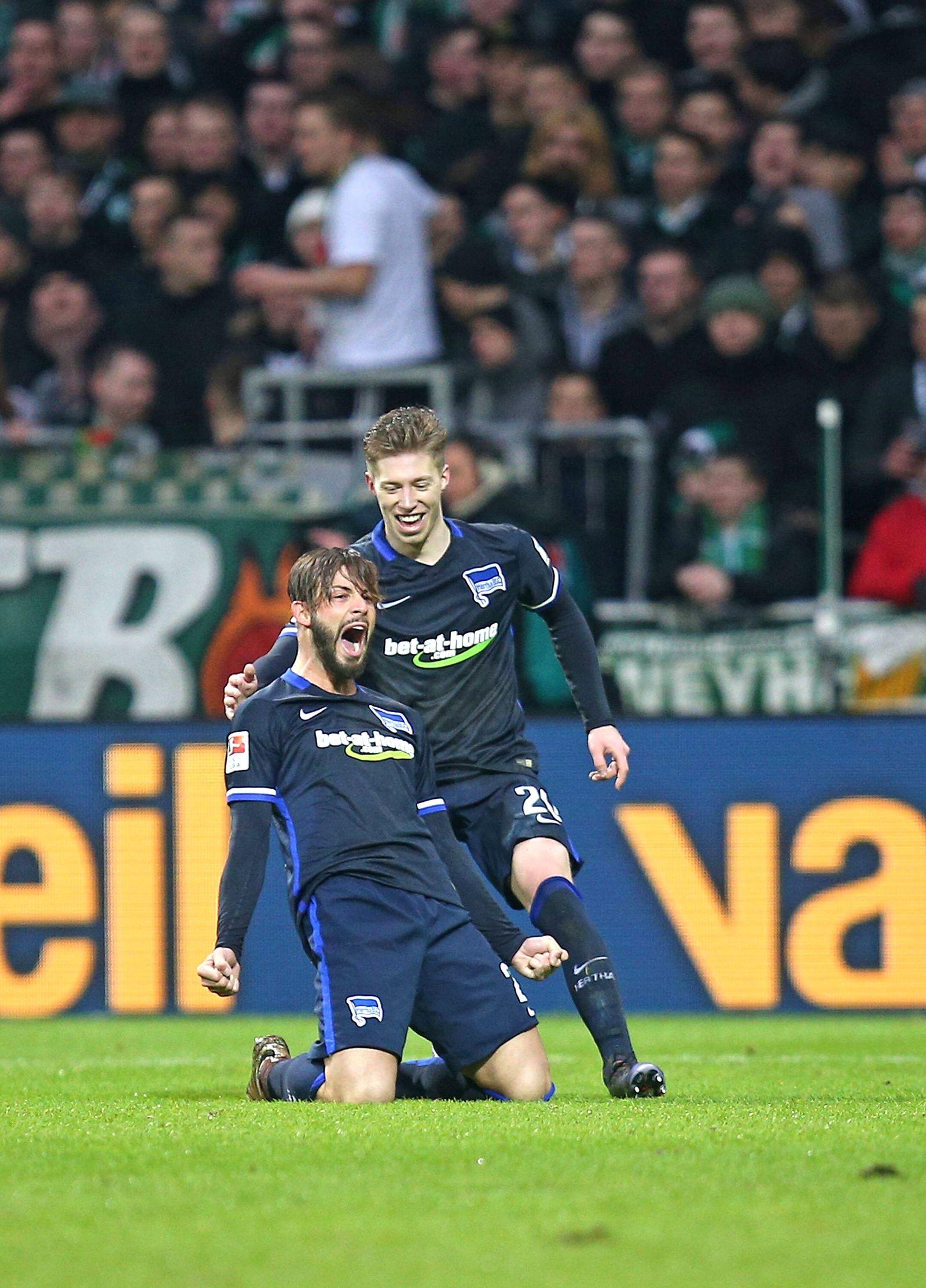 EINMALIGE VERWENDUNG Marvin Plattenhardt/ Mitchell Weiser/ Hertha BSC