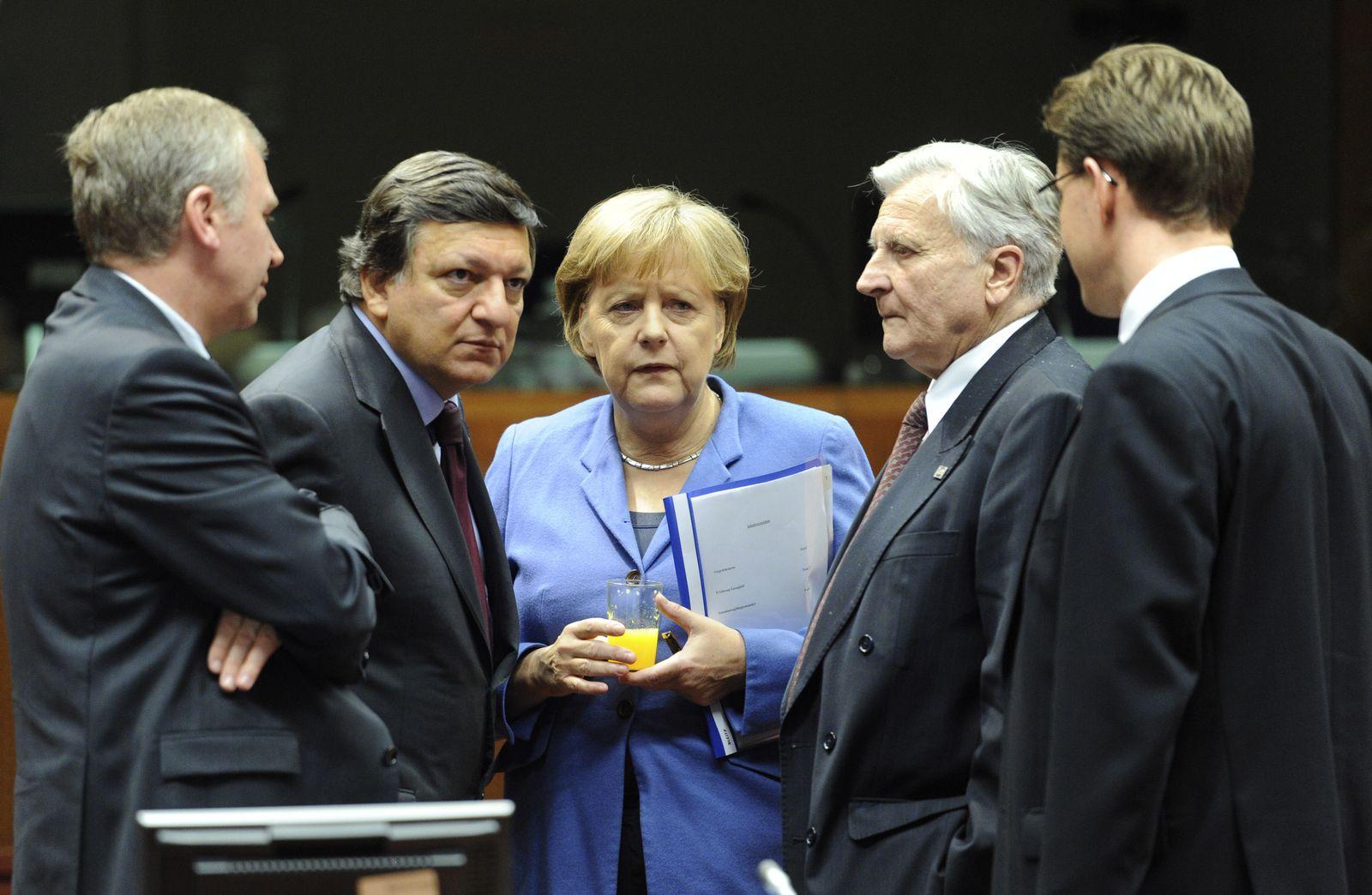 EU-Gipfel/ Rettungsroutine